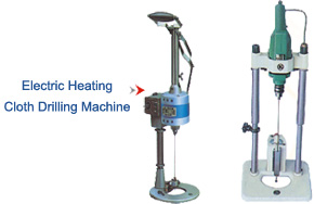 Electric Heating - Cloth Drilling Machine